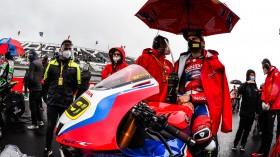 Alvaro Bautista, Team HRC, Magny-Cours RACE 1
