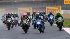 Scott Deroue, MTM Kawasaki MOTOPORT, Bahattin Sofuoglu, Biblion Motoxracing Yamaha WorldSSP300, Magny-Cours RACE 1