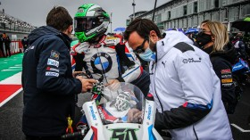 Eugene Laverty, BMW Motorrad WorldSBK Team, Magny-Cours Tissot Superpole RACE