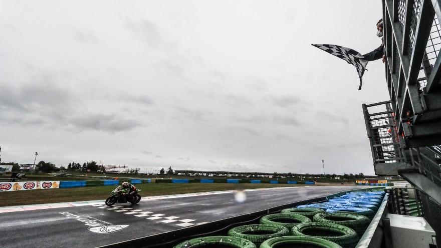 Jonathan Rea, Kawasaki Racing Team WorldSBK, Magny-Cours Tissot Superpole RACE