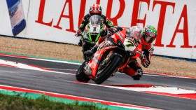 Chaz Davies, Aruba.it Racing - Ducati, Jonathan Rea, Kawasaki Racing Team WorldSBK, Magny-Cours RACE 2