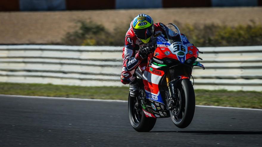 Leandro Mercado, Motocorsa Racing, Estoril FP1