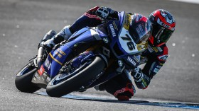 Loris Baz, Ten Kate Racing - Yamaha, Estoril FP2