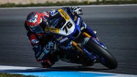 Loris Baz, Ten Kate Racing Yamaha, Estoril FP1