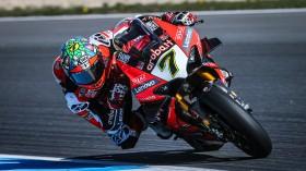 Chaz Davies, Aruba.it Racing - Ducati, Estoril FP1