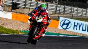 Chaz Davies, Aruba.it Racing - Ducati, Estoril FP2