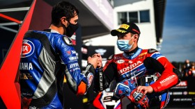 Toprak Razgatlioglu, Pata Yamaha WorldSBK Official Team, Leon Haslam, Team HRC, Estoril Tissot Superpole