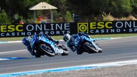 Corentin Perolari, Jules Cluzel, GMT94 Yamaha, Estoril RACE 1