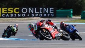 Chaz Davies, Aruba.it Racing - Ducati, Estoril RACE 1