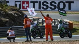 Xavi Fores, Kawasaki Puccetti Racing, Jonathan Rea, Kawasaki Racing Team WorldSBK, Estoril RACE 2