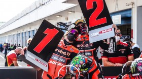 Chaz Davies, Scott Redding, Aruba.it Racing - Ducati, Estoril RACE 2