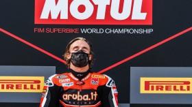 Chaz Davies, Aruba.it Racing - Ducati, Estoril RACE 2