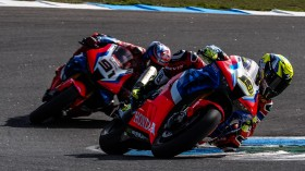 Alvaro Bautista, Leon Haslam, Team HRC, Estoril RACE 2