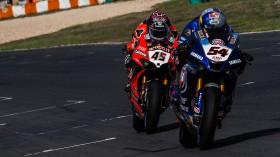 Scott Redding, Aruba.it Racing - Ducati, Toprak Razgatlioglu, Pata Yamaha WorldSBK Official Team, Estoril RACE 2
