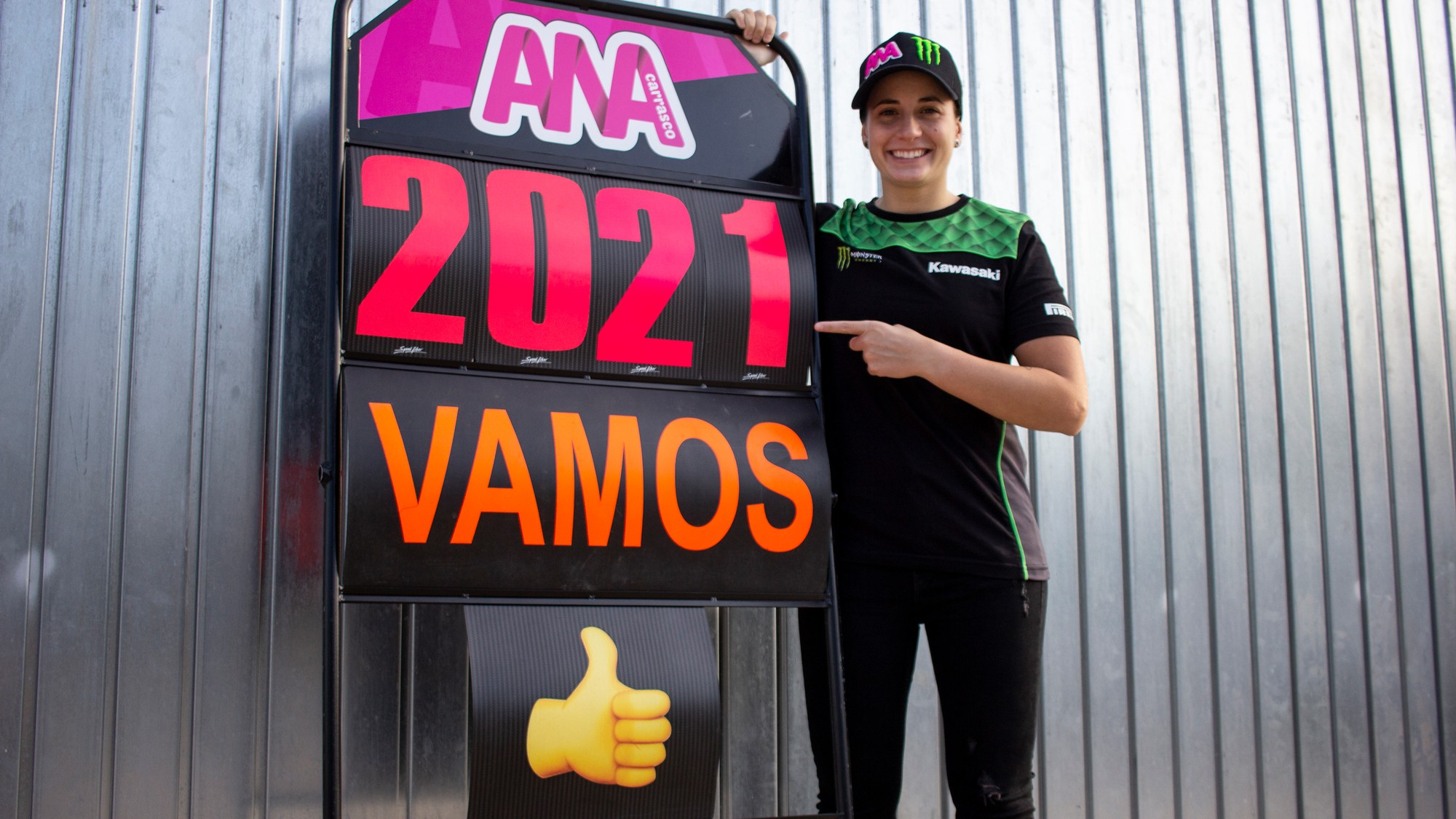 Carrasco remains with Kawasaki Provec for 2021 title challenge