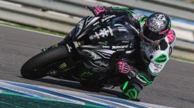 Alex Lowes, Kawasaki Racing Team WorldSBK, Jerez Test Day 1