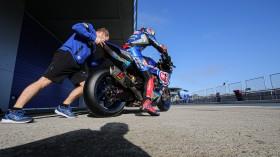 Toprak Razgatlioglu, Pata Yamaha Official WorldSBK Team, Jerez Test Day 1
