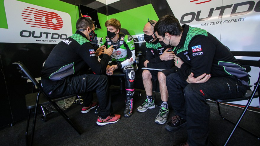 Loris Cresson, OUTDO Kawasaki TPR, Jerez Test Day 1