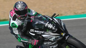 Alex Lowes, Kawasaki Racing Team WorldSBK, Jerez Test Day 2