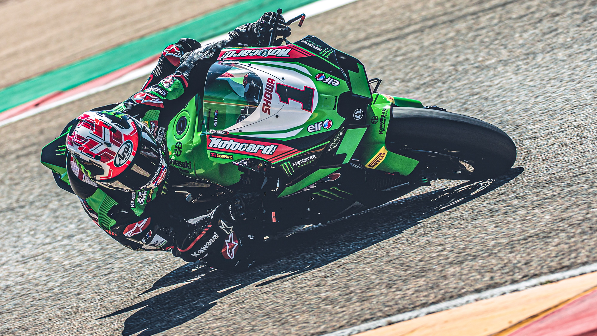 Rea smashes pole lap record pace at Aragon test, Laverty makes first 2021 appearance