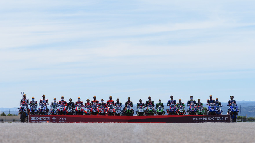 WorldSBK Chevron Official picture