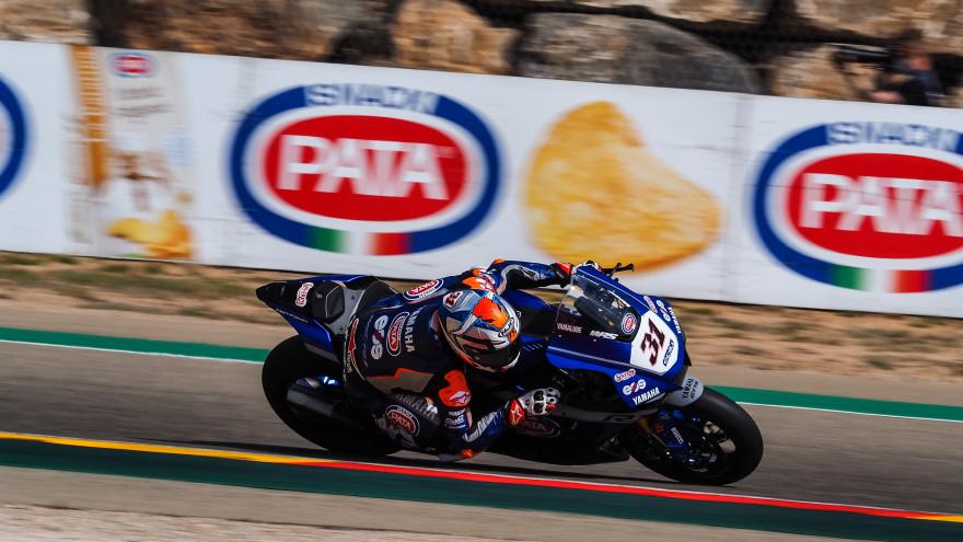 Garrett Gerloff, GRT Yamaha WorldSBK Team, Aragon FP1