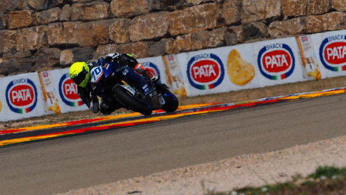 Marc Alcoba, Yamaha MS Racing, Aragon FP2
