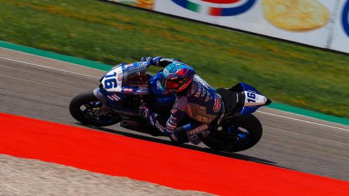 Jules Cluzel, GMT94 Yamaha, Aragon FP2
