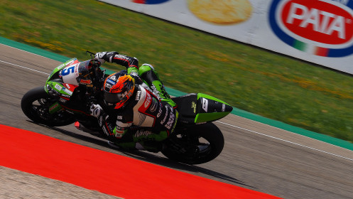 Philipp Oettl, Kawasaki Puccetti Racing, Aragon FP2