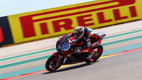 Niki Tuuli, MV Agusta Corse Clienti, Aragon FP1
