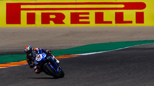 Garrett Gerloff, GRT Yamaha WorldSBK Team, Aragon FP2