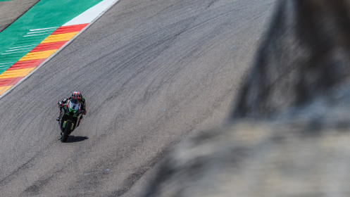 Jonathan Rea, Kawasaki Racing Team WorldSBK, Aragon FP2