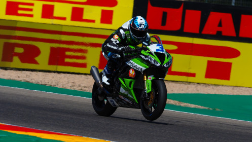 Raffaele De Rosa, Orelac Racing VerdNatura, Aragon FP2