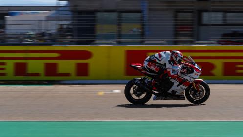 Randy Krummenacher, EAB Racing Team, Aragon FP2