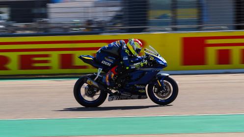 Dominique Aegerter, Ten Kate Racing Yamaha, Aragon FP2