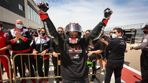 Jonathan Rea, Kawasaki Racing Team WorldSBK, Aragon RACE 1