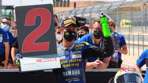 Dominique Aegerter, Ten Kate Racing Yamaha, Aragon RACE 1