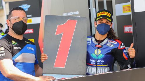 Maria Herrera, Biblion Iberica Yamaha Motoxracing, Aragon RACE 1