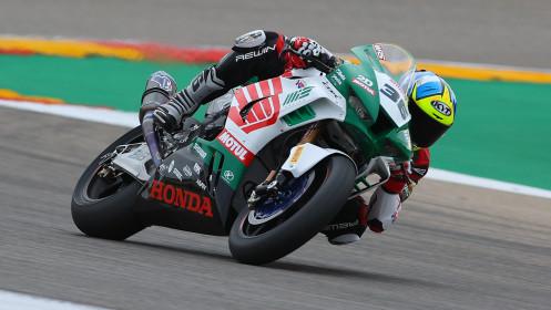Leandro Mercado, MIE Racing Honda Team, Aragon FP3