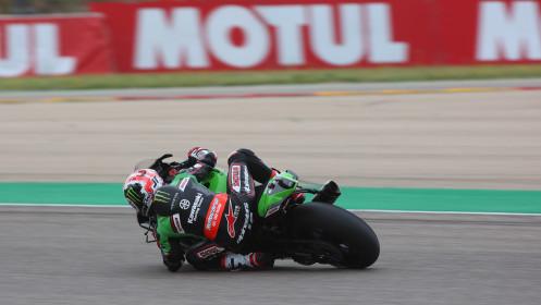 Jonathan Rea, Kawasaki Racing Team WorldSBK, Aragon Tissot Superpole
