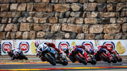 Tom Sykes, BMW Motorrad WorldSBK Team, Aragon RACE 1
