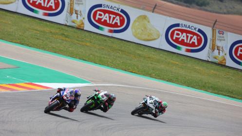 Toprak Razgatlioglu, Pata Yamaha with BRIXX WorldSBK, Aragon RACE 1