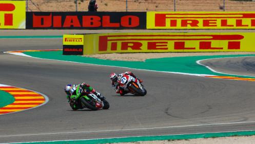 Can Alexander Öncü, Kawasaki Puccetti Racing, Aragon RACE 1