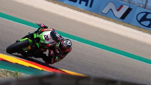 Alex Lowes, Kawasaki Racing Team WorldSBK, Aragon RACE 1