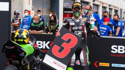 Philipp Oettl, Kawasaki Puccetti Racing, Aragon Tissot Superpole