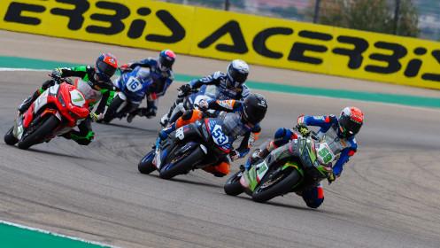 Alessandro Zanca, Kawasaki GP Project, Aragon RACE 1