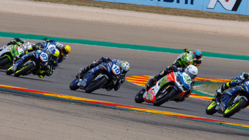 Samuel Di Sora, Leader Team Flembbo, Aragon RACE 1