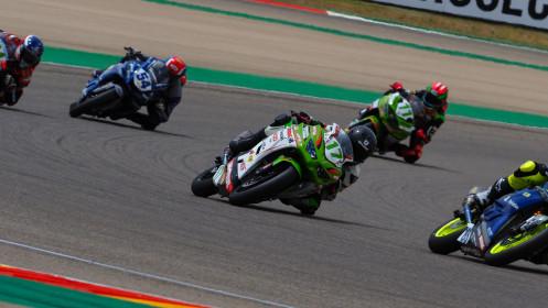 Koen Meuffels, MTM Kawasaki, Aragon RACE 1
