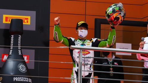 Yuta Okaya, MTM Kawasaki, Aragon RACE 1