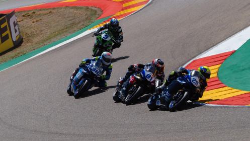 Luca Bernardi, CM Racing, Aragon RACE 1